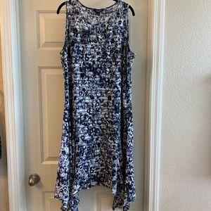 XL Simply Vera Wang Asymmetrical Dress